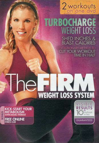 firm turbocharge turbo charge weight loss dvd