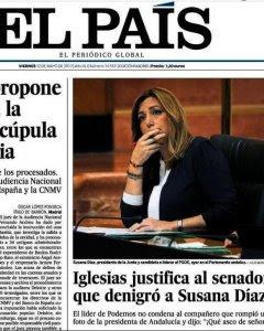 Portada de 'El País' en su edición del 12 de mayo de 2017.