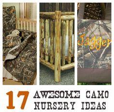 Camo Nursery on Pinterest