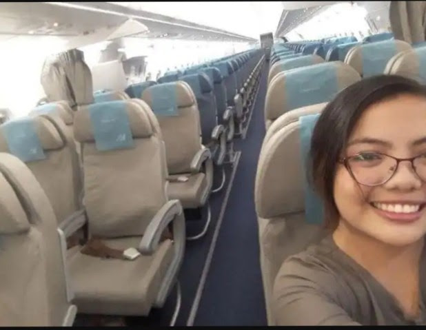 Meet Louisa Erispe Who Made Her Journey Unforgettable Being The Only Passenger In The Flight But It Still Took Off
