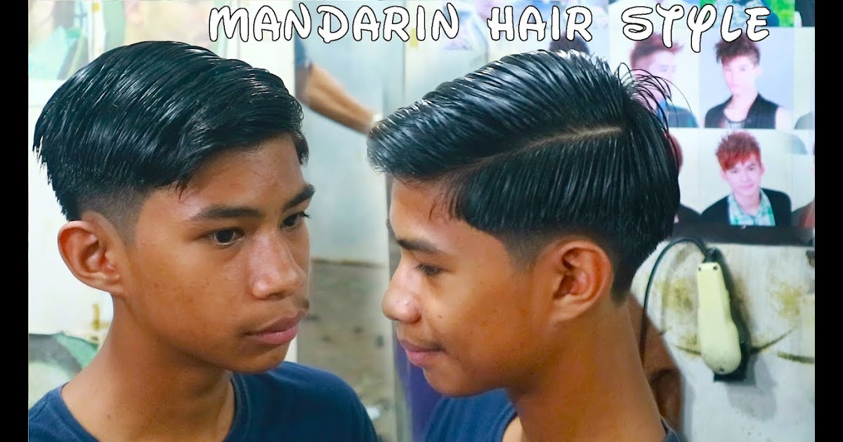 44 Potong Rambut Mandarin Pria Konsep Terkini
