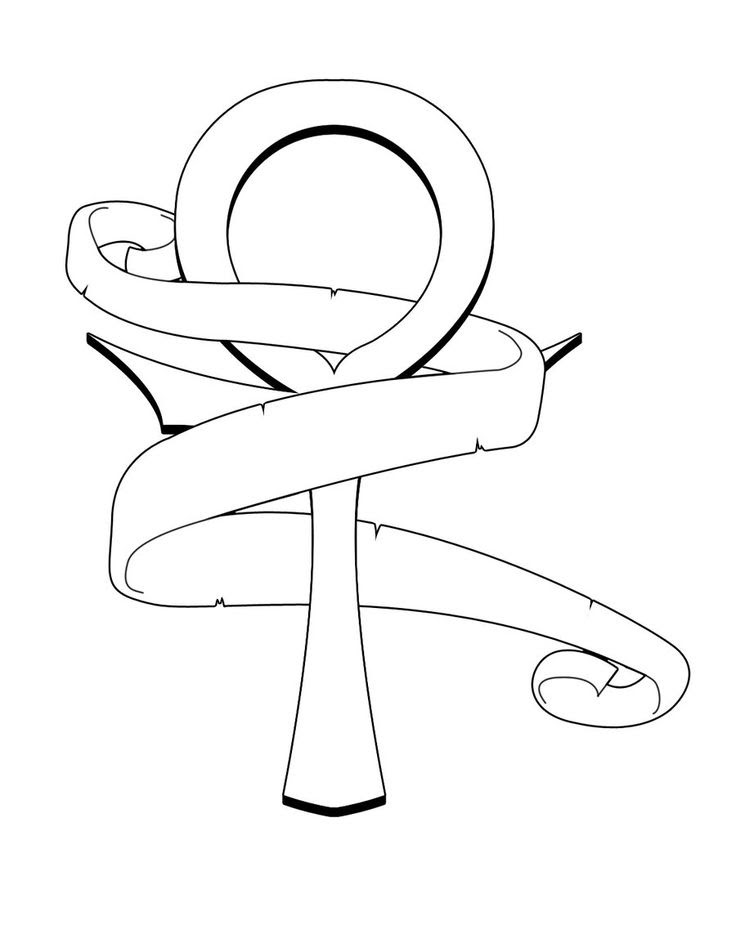 Egyptian Ankh Drawing At Getdrawingscom Free For Personal Use