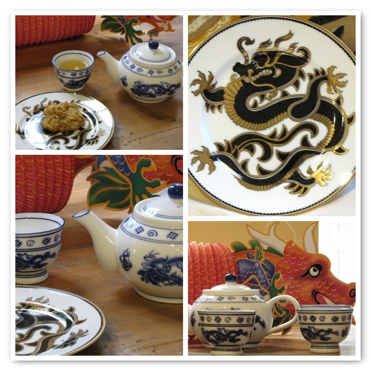 Dragon Tea Mosaic