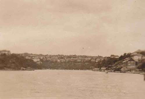 Mosman Bay on Sydney Harbour - mid 1920s