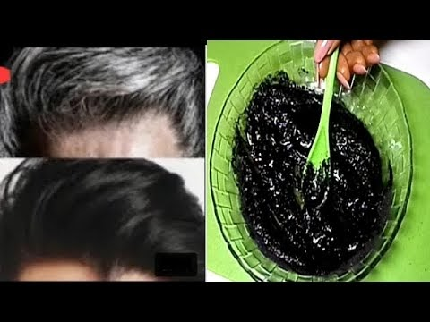 PARMANENTLY TURN GRAY HAIR TO BLACK IN 1 DAY Editorial Naturalbeauty556