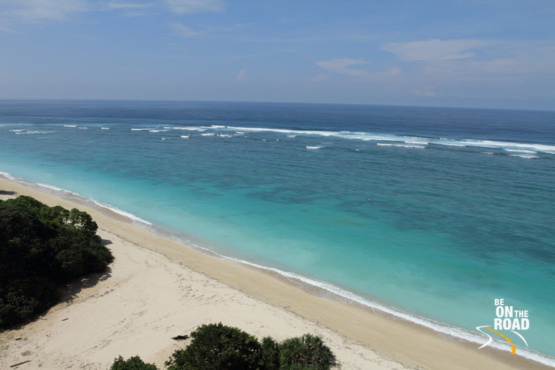 The Indian Ocean View at Bali, Indonesia