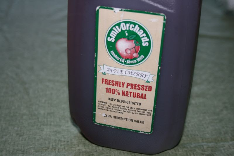 Organic Apple-Cherry Cider