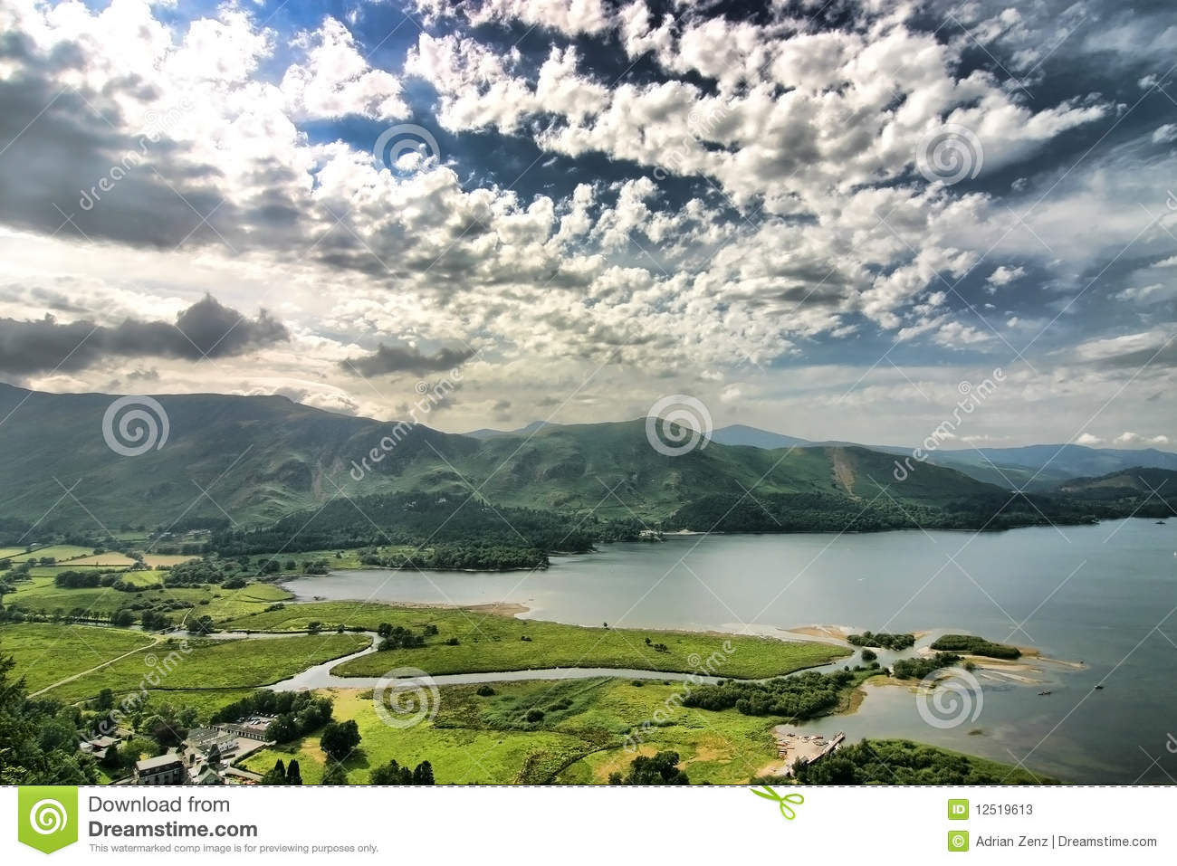 scenery lake district england 12519613