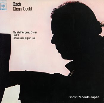 GOULD, GLENN bach; the well-tempered clavier, book 1