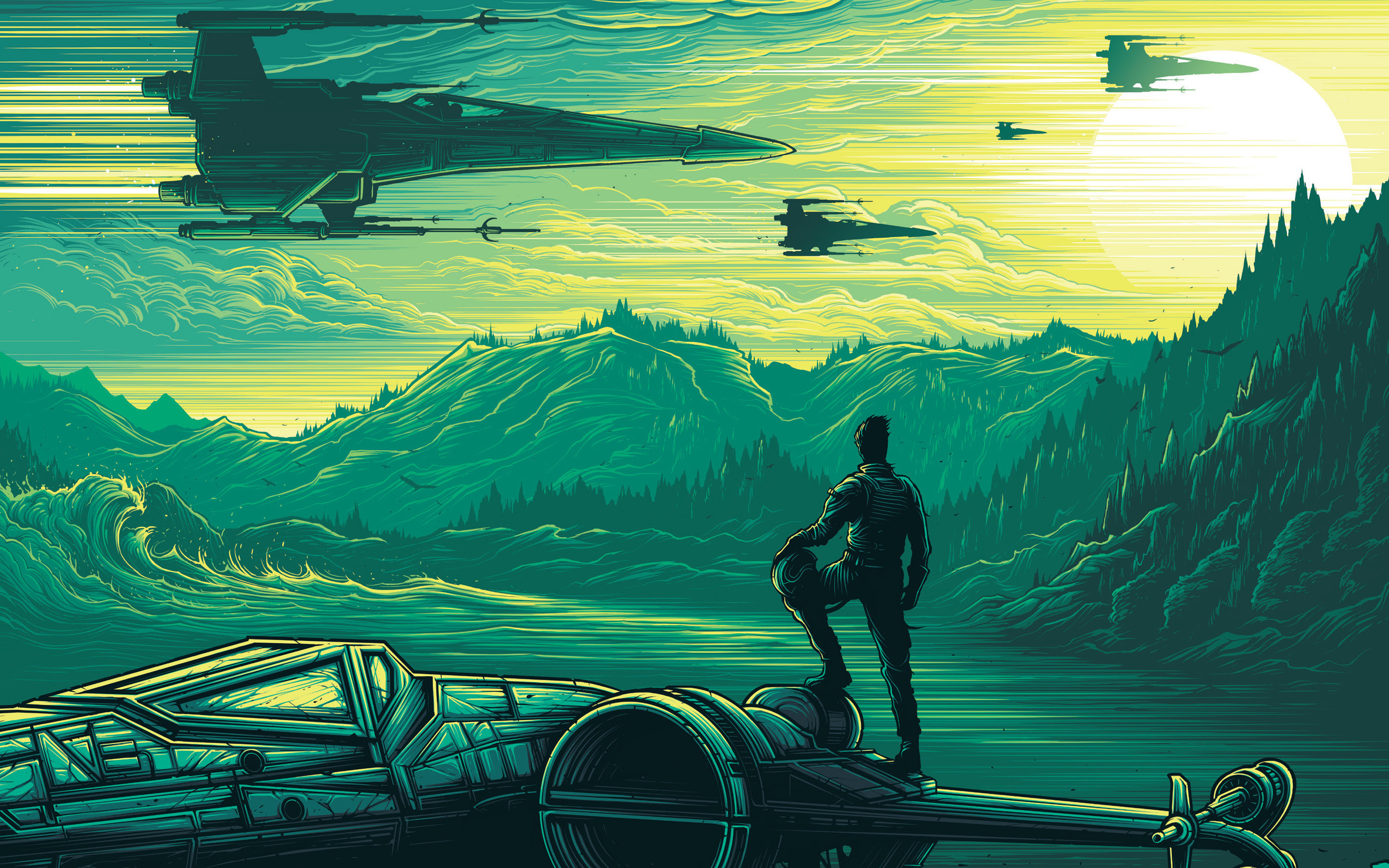 Star Wars Wallpaper Force Awakens 71 Images