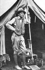 Foto de Hiram Bingham, descobridor i espoliador del Machu Pichu