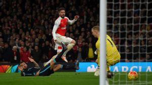 Arsenal kalahkan Manchester City , ARTIKELNEWS.ID.AI