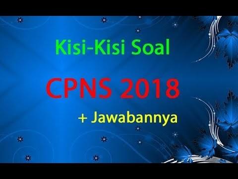 Free Download Soal Cpns 2018 Dan Kunci Jawaban Pdf