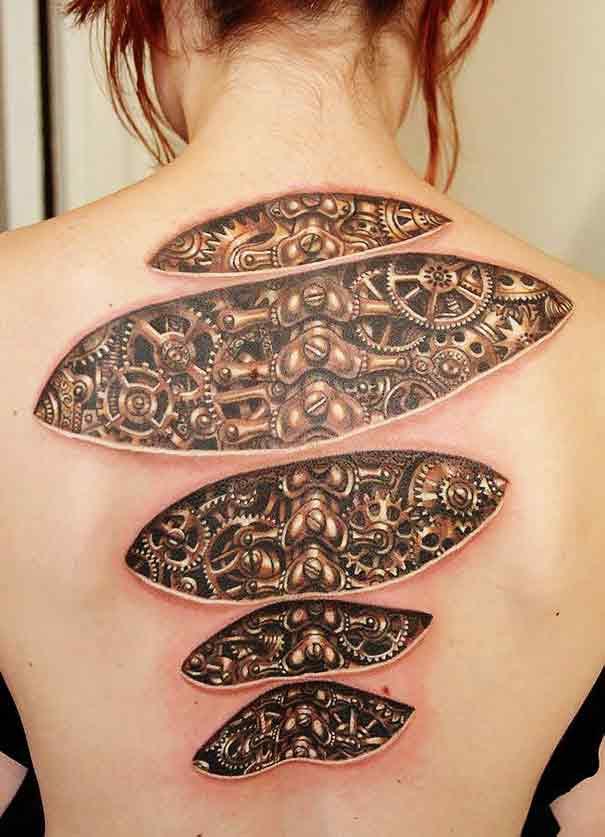 Revista De Artes El Arte Del Tatuaje