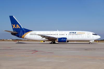 Xtra Airways Boeing 737-4Q8 N772AS (msn 25105) PGD (Luimer Cordero). Image: 907766.