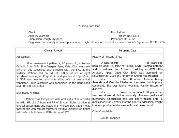 Nursing Care Plan Copd Impaired Gas Exchange - copd blog v