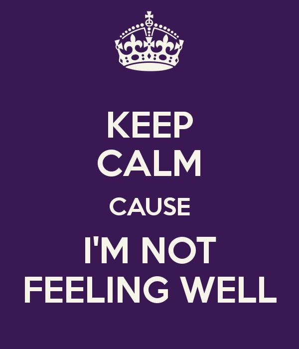 Not Feeling Well Quotes Sayings Not Feeling Well Picture Quotes