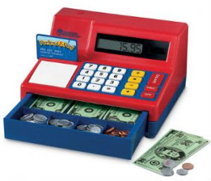 Learning Fun cash register