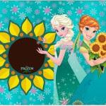 Convite Frozen Fever Cute
