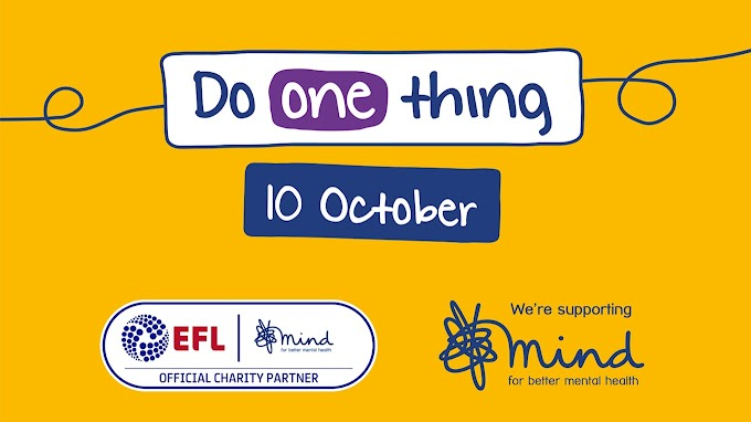 EFL & Mind Urge Fans to 'Do One Thing' This World Mental Health Day