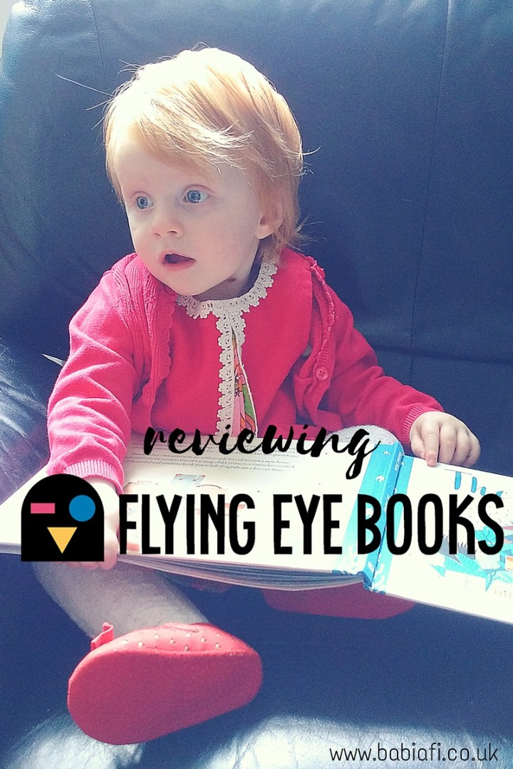 Reviewing Flying Eye Books