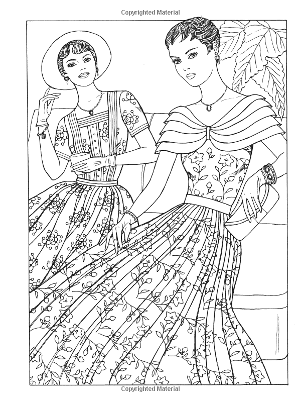 Download 1950s Coloring Pages at GetColorings.com   Free printable ...