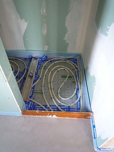 Bekannt Planschbecken wasser frisch halten: Fußbodenheizung dusche estrich OF18