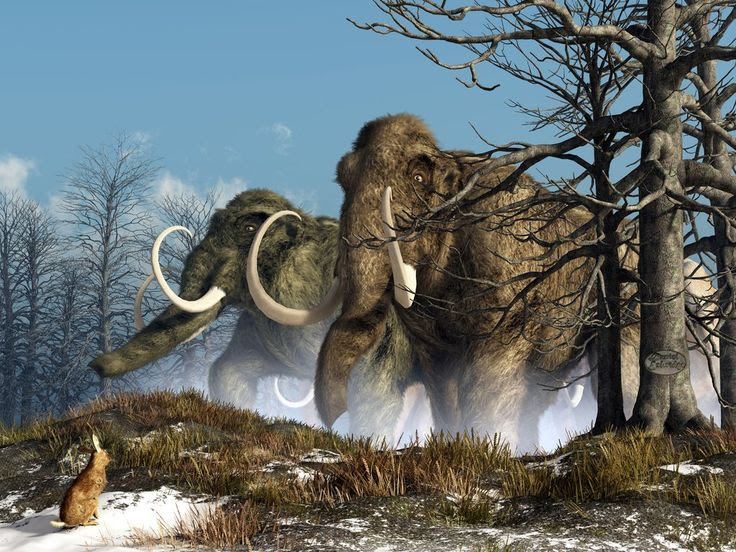 A Storm of #Mammoths by *deskridge