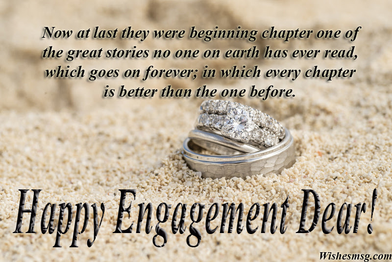 120 Engagement Wishes Messages And Greetings Wishesmsg