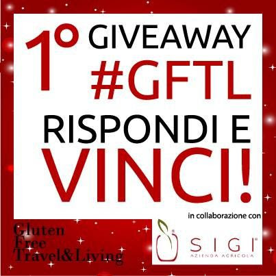 Il  primo Giveaway di Gluten Free Travel & Living