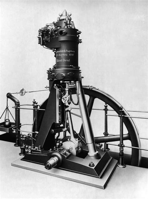 Alma de herrero: Primeros motores Diésel