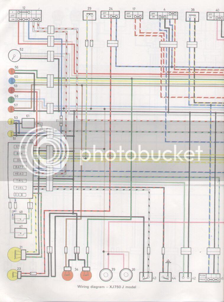 Yamaha Motorcycle Xj Wiring Diagram - Wiring Diagram Schemas