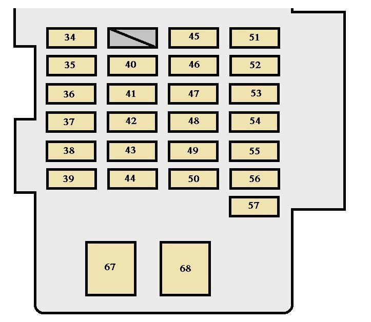 2004 toyota highlander fuse box diagram 30 2017 toyota highlander fuse box diagram wiring diagram list  2017 toyota highlander fuse box diagram
