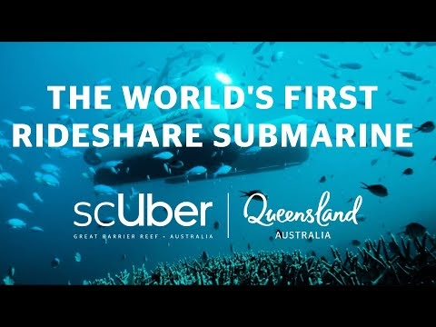 Uber launches ScUber: an underwater ride-hailing service