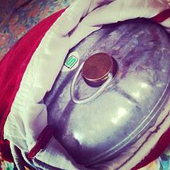 keeping me warm, thanks yutanpo! #fb