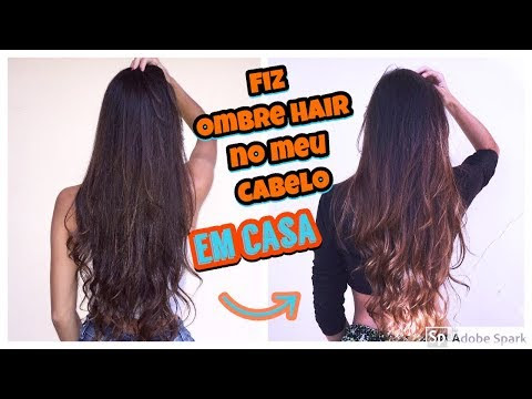 Como Fazer Ombre Hair Em Casa - Morena Iluminada