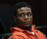 Accused killer, Deontay DeMarco Black-Wickliffe arraigned in Muskegon on January 3, 2014