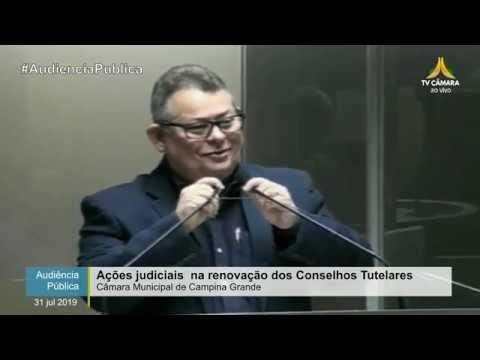 Audiência Pública: ações judiciais na renovação dos Conselhos Tutelares – CMCG