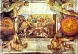 Michelangelo. The Sacrifice of Noah.