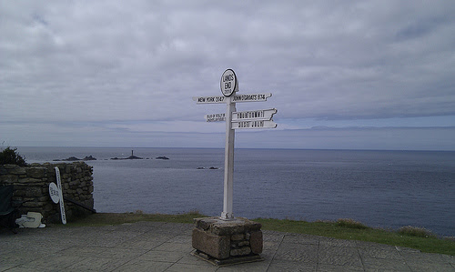 Penzance, Cornwall: Lands End