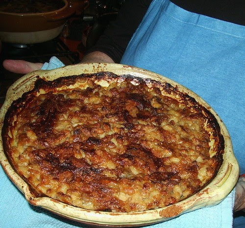 Cassoulet Hot Out of the Oven