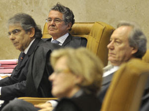 Ministros dos STF no julgamento da Lei Maria da Penha (Foto: José Cruz  / Agência Brasil)