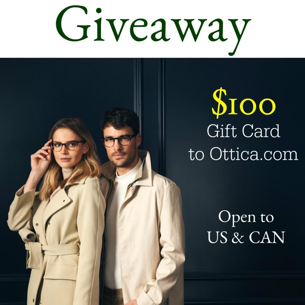 Enter the $100 Ottica.com Giveaway. Ends 9/3 Open US/CA