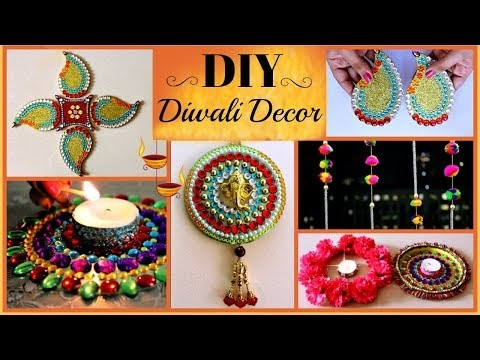 5 DIY- Diwali Decoration Ideas (Easy and Creative) Best Room Decor Ideas