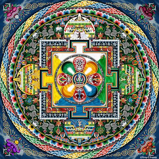 Mandala Da Colorare I Colori Come Antistress Chicroll