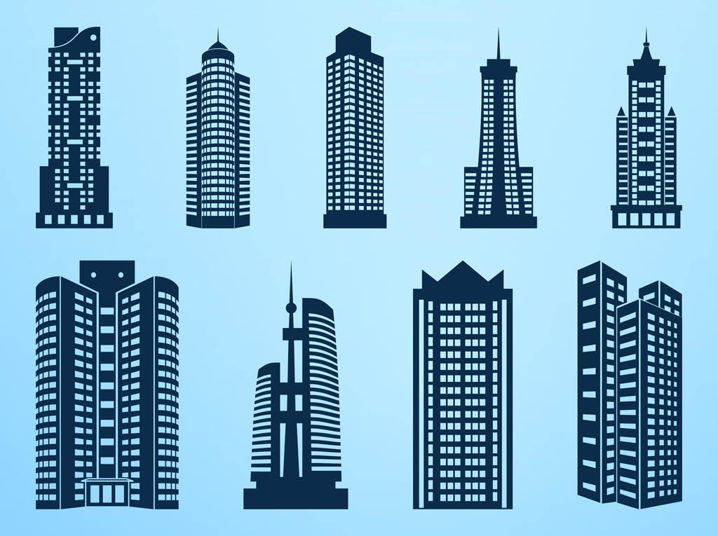 Skyscrapers Graphics Vector Art & Graphics | freevector.com