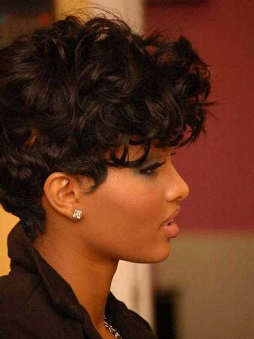 Best Short Curly Weave Hairstyles Short Hairstyles 2019