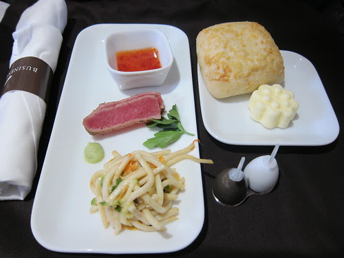 Eating First Class