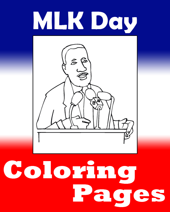 MLK Day Coloring Pages | Printable Coloring eBook ...