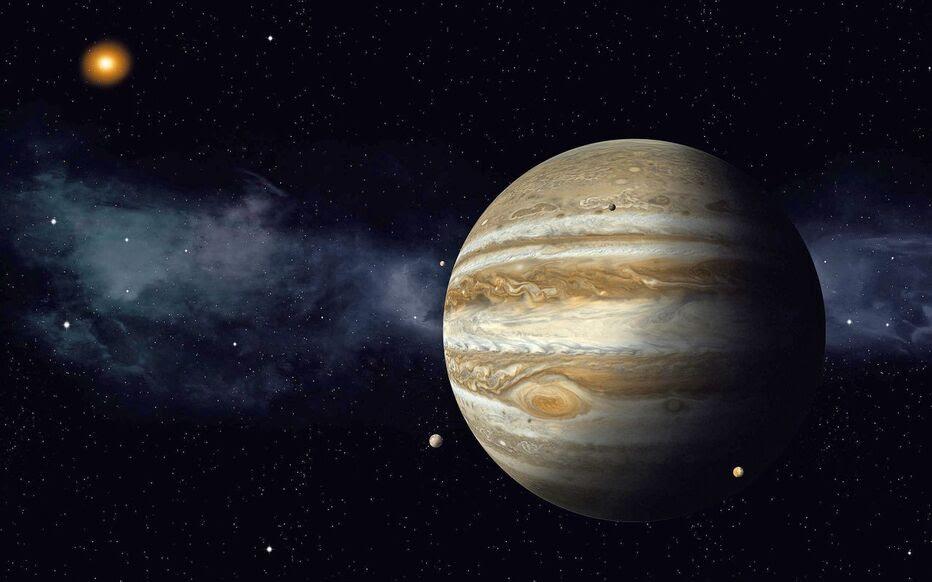 Dans Le Secret Des Planètes Jupiter La Géante Qui Fait